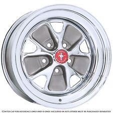 Mustang Wheel Styled Steel Chrome 5 Lug 14X5 64 1965 1966 67 68 69 70