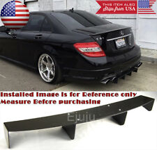 "34"" x 6.25"" Shark Fin ABS Rear Bumper Splitter Diffuser Canards Black For  Mini"
