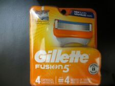 GILLETTE FUSION 5 ( 4 COUNT ) CARTRIDGES ~FREE USA SHIPPING!!