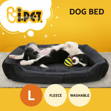 i.Pet Dog Bed Beds Mat Soft Cat Cushion Pillow Fleece Washable Warm Large