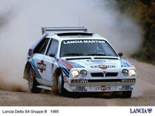 A3 LANCIA 1985 DELTA S4 GROUP B Advert Wall Poster Brochure Art Picture Print