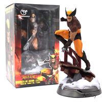 X-Men Logan Wolverine Premium Statue Brown Costume Version PVC Figure Model Toy