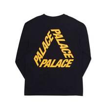 c23c260f33ae NEW Palace Font Tri Ferg T-shirt Black L S longsleeve p-3