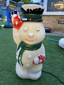 Christmas Blow Mold Snowman