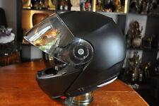 Schuberth C3 Pro Flip Up Helmet Matt Anthracite Motorcycle Helmet Men Size XL