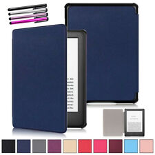 Smart Flip Case For Amazon All-New Kindle 10th Generation 2019 PU Leather Cover