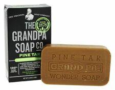 The Grandpa Soap Co Original Wonder Pine Tar Soap 100% Plant Base 4.25 oz