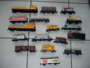 lot wagons jouef lima.jouef.lima.wagon.locomotive.train electrique.