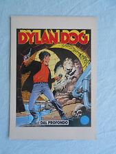 CARTOLINA/POSTCARD DYLAN DOG-n° 20-dal profondo-sclavi/castelli-bonelli-fumetti