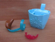 Disney Frozen Elsa Anna & Olaf Bicycle Doll Set - Musical Basket, Seat & Tiara