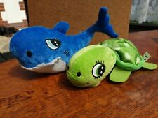 Soft Toy Dolphin And Turtle