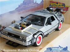 DELOREAN BACK TO THE FUTURE III 3 MODEL CAR 1:24 SCALE CAR 1980'S WELLY K8