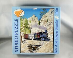 Bits and Pieces South Platte Canyon John Coker Train Jigsaw Puzzle 1000
