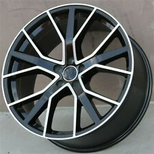 "Set(4) 20"" 20X9.0 5X112 Et35Mm Wheels Rims Audi A8 A5 A6 A4 Q5 Sq5 Q3 Rs Line (Fits: Rabbit)"