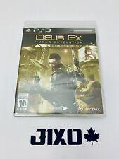 Deus Ex: Human Revolution Director's Cut (Sony PlayStation 3, 2013) New Sealed!