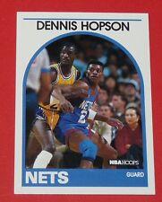 # 199 DENNIS HOPSON NEW JERSEY NETS 1989 NBA HOOPS BASKETBALL CARD