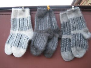 Winter Socks 100% natural RUSSIAN goat down yarn craft Cashmere very warm soft