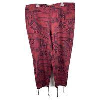 International Male Mens Hammer Pants baggy parachute pants 80's vintage 42x31