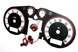 Audi TT (8N) '98-'06 design 2 glow gauges dials plasma dials kit tacho glow dash