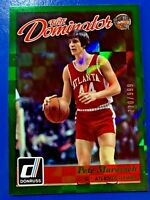 PETE MARAVICH 2015-16 DONRUSS ELITE HALL DOMINATOR #/999 *ATLANTA HAWKS*
