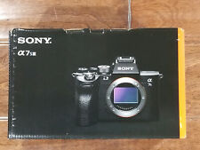 BRAND NEW Sony Alpha a7S III Mirrorless Digital Camera Body