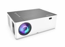 Bomaker Parrot I Projektor 1080p LED Beamer 4K 7200 Lumen Heimkino Fernbedienung