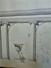 LAVIS-ENCRE-PLAN-PROJET-ARCHITECTURE-PALAIS-DEMEURE-R. VITTE-ATELIER-20-