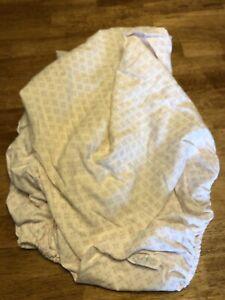 FAO Schwarz Fitted Crib Sheet Baby Girl