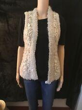 Beige & cream Kensie girl, Womens vest, Sweater material, sz Med, MAKE AN OFFER