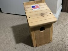 Bird House Feeder Bluebird Nesting Box Wood Cedar Cage Tree Nest Nature Woodlink