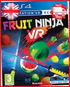 Fruit Ninja PSVR/PS4