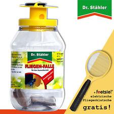 Dr.Stähler 1 x Fliegen-Falle + 1 x Foetsie elektrische Fliegenklatsche GRATIS