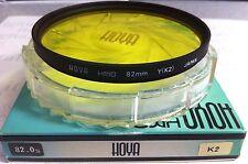 Hoya 82mm giallo #K2 K2 MULTISTRATO ( HMC ) VETRO FILTRO LENTE MC Y (K2) HMC 82
