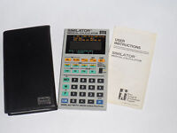 VINTAGE 1986 MEDICAL ELECTRONIC CALCULATOR CUSTOMIZED FOR BABY FORMULA! W/CASE