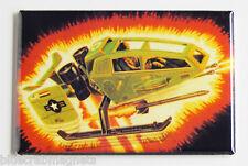 G.I. Joe Sky Hawk FRIDGE MAGNET (2 x 3 inches) real american hero gi joe