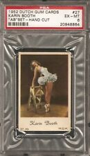 ~ 1952 Dutch Gum #27 ~ KARIN BOOTH ~ PSA 6 ~ Vintage Pinup Actress !!