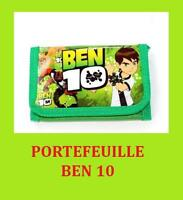 JEU JOUET PORTEFEUILLE TISSU NEUF BEN10 BEN 10 GARCON ENFANT JEU JOUET