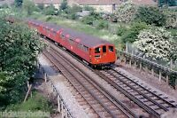 London Underground 38 Stock Kingsbury 31/05/78 Rail Photo