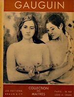 RAYMOND COGNIAT gauguin LES MAITRES BRAUN peinture++
