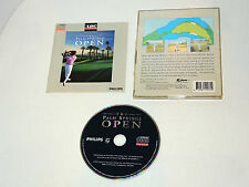 THE PALM SPRINGS OPEN complete Philips CD-i CDI CD I videogame