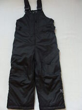NWT Boys Zero XPosur Snow Pants Size 4 Black Snowboard Bibs Overalls Winter NEW