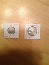 1962F 1 Deutsche Mark & 1949/1969/1971 J 2 Deutsche from Germany