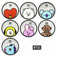 BTS BT21 Official Authentic Goods Coaster By YUYU + Tracking Number