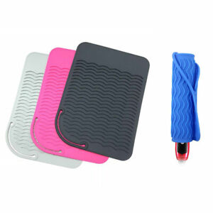 Heat Resistant Mat For Curling Flat Irons Hair Straightener Hair Styling TooBBI