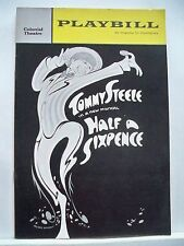 HALF A SIXPENCE Playbill TOMMY STEELE / H.G. WELLS' KIPPS Tryout BOSTON 1965