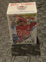 2021 Topps Series 1 Baseball Factory Sealed MLB Relic Blaster Box WM Exclusive