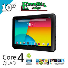 QUAD CORE TABLET PC ALLWINNER A33 ANDROID 4.4 10.1 INCH 1.3GHz 5000mAh WIFI