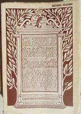 1940 GABRIELE D'ANNUNZIO PROSE SCELTE  ILL BRUNO DA OSIMO D. PASTORINO