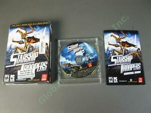 2005 Starship Troopers PC Video Game Empire Interactive DVD Survival Guide Box