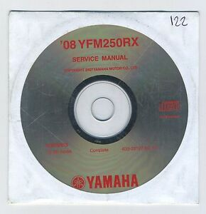 (CD122) CD YAMAHA YFM250RX